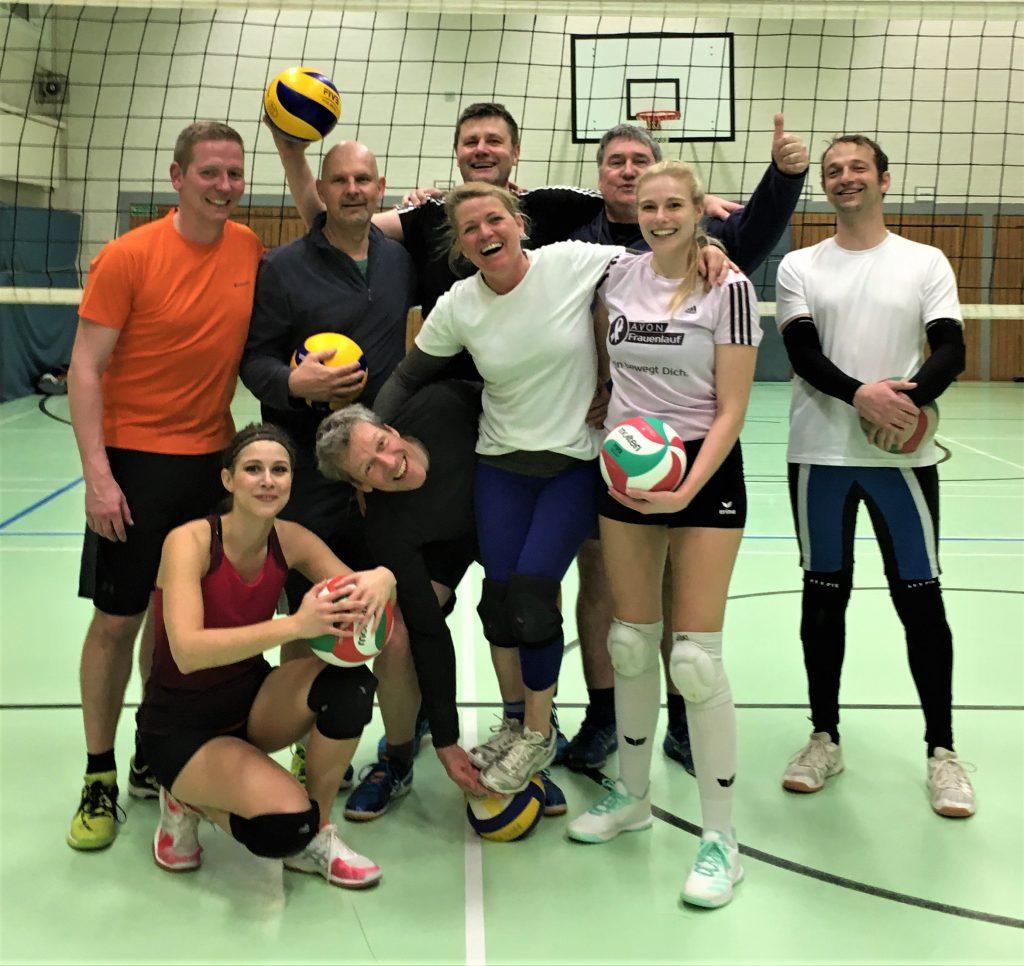 Ab und Zu Volleyball